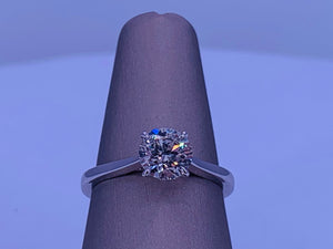 1CTW Solitaire Diamond Engagement Ring