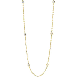 14KTY Diamond D.B.T.Y Fashion Necklace 1/4Ct, Danwerke Jewelers, NK10016-4YF