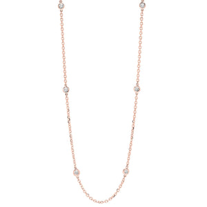 14KTR Diamond D.B.T.Y Necklace 3/4Ct, Danwerke Jewelers, NK10018-4PF