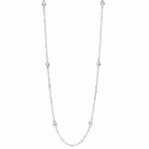 14KTW Diamond D.B.T.Y Necklace 1 1/2Ct, Danwerke Jewelers, NK10029-4WF