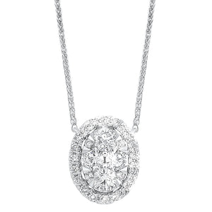 14K Diamond Pendant 1/4 ctw, Danwerke Jewelers, NK10077-4WC