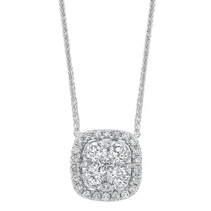 14K Diamond Pendant 1/2 ctw, Danwerke Jewelers, NK10083-4WC