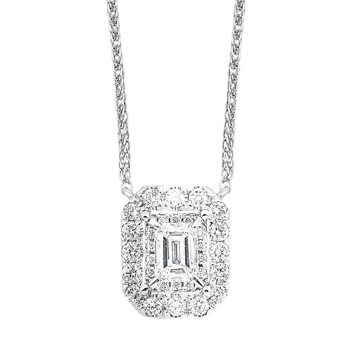 14K Diamond Pendant 1/3 ctw, Danwerke Jewelers, NK10098-4WC