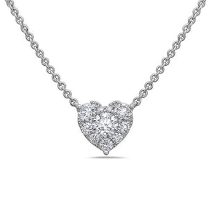 18K White Gold Necklace