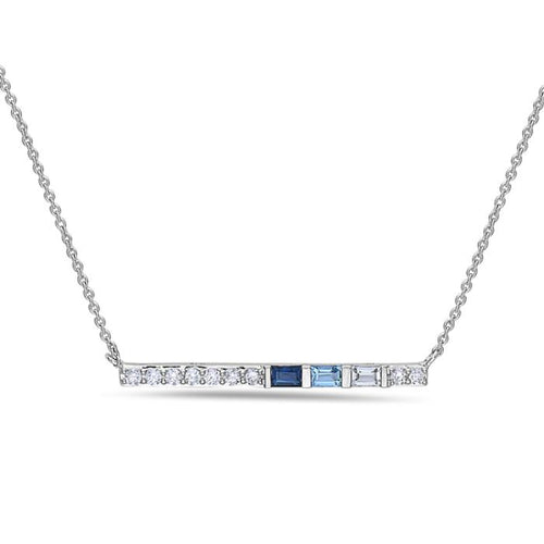 14K White Gold Necklace