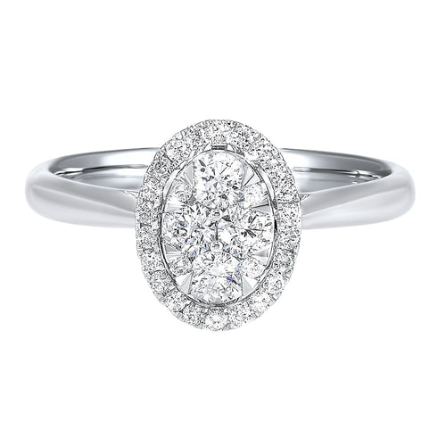 14K Diamond Ring 1/2 ctw, Danwerke Jewelers, RG10562-4WC