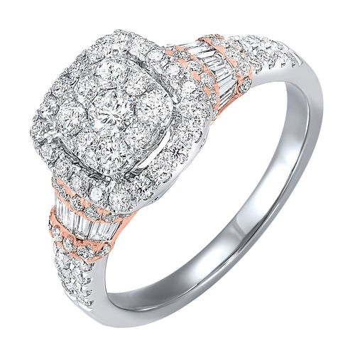14K Diamond Ring 1 ctw, Danwerke Jewelers, RG10609-4WPC