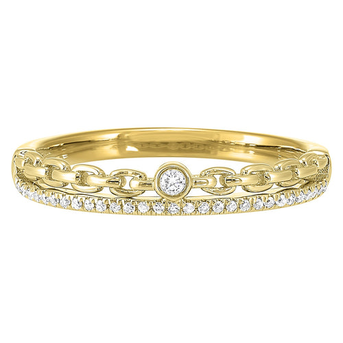 14K Diamond Ring 1/10 ctw, Danwerke Jewelers, RG10611-4YC