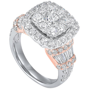 14K diamond ring 3ctw, Danwerke Jewelers, RG10626-4WPC