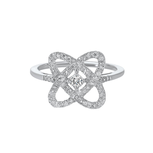 Sterling Silver Diamond Ring 1/4ctw, Danwerke Jewelers, RG10834-SSF