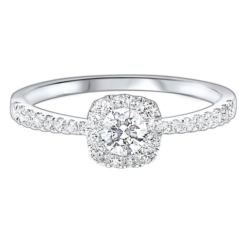 14K Diamond Ring 1/2ctw, Danwerke Jewelers, RG46370-4WC