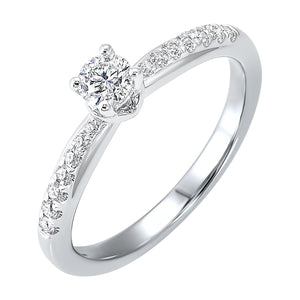 14KTW Diamond Engagement Ring 1/3Ct, Danwerke Jewelers, RG68792-4WC