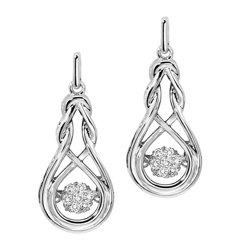 SS Diamond ROL Basics Earring 1/7Ct, Danwerke Jewelers, ROL1020-SSWD