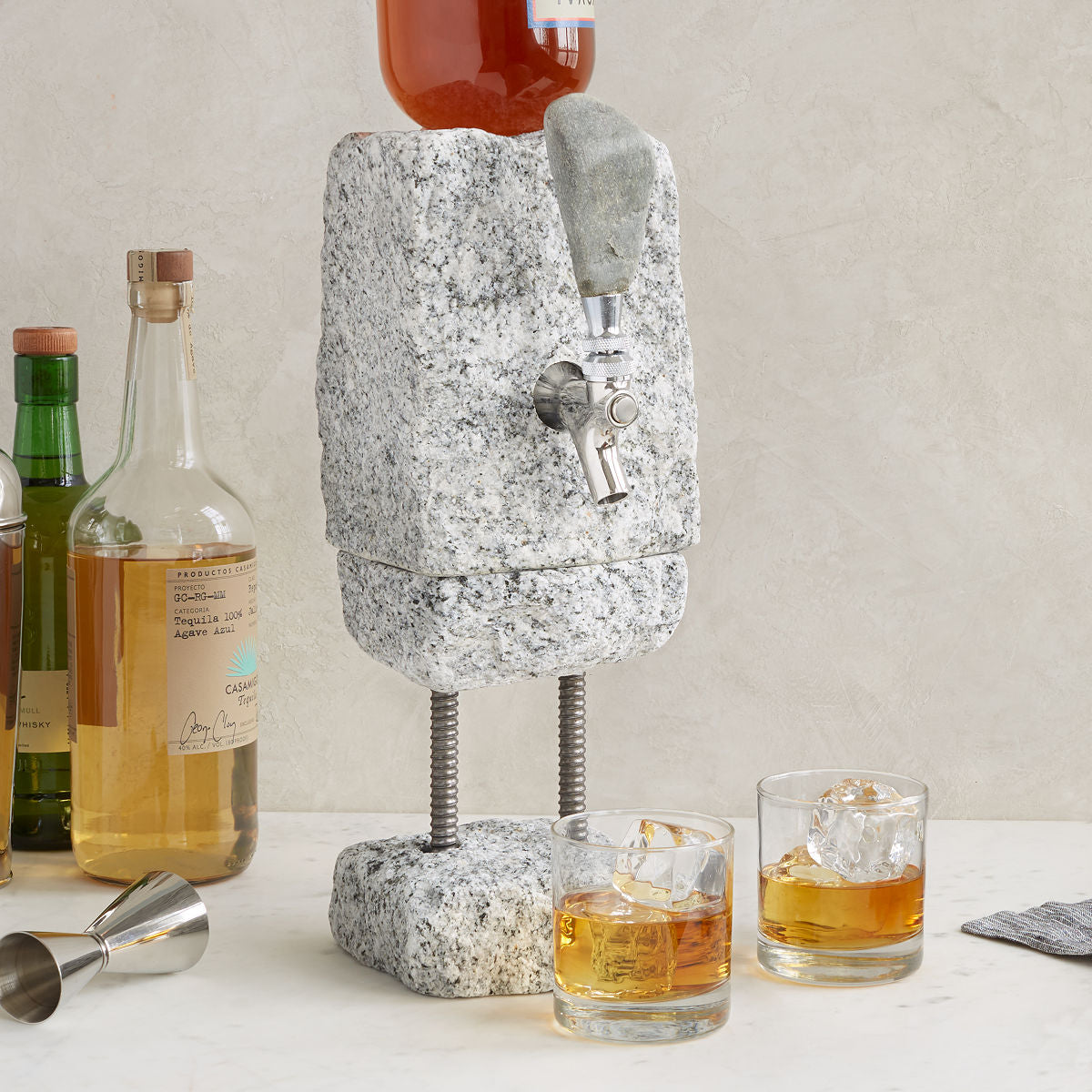 The Stone Drink Dispenser