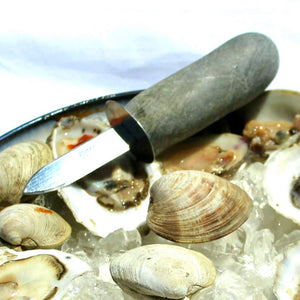 Beach Stone Clam Shucker
