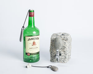 "The ""I Ain't Lifting That Rock"" Beach Stone Bottle Stopper"