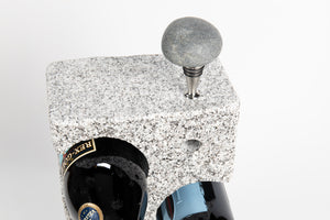 3 Bottle - Granite Wine Rack