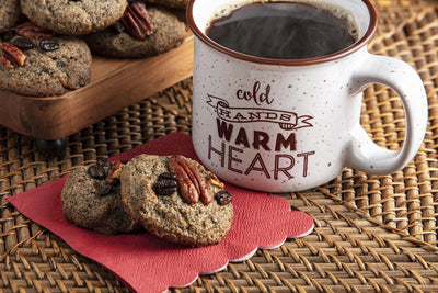 Almond Coffee Cookies Recipe