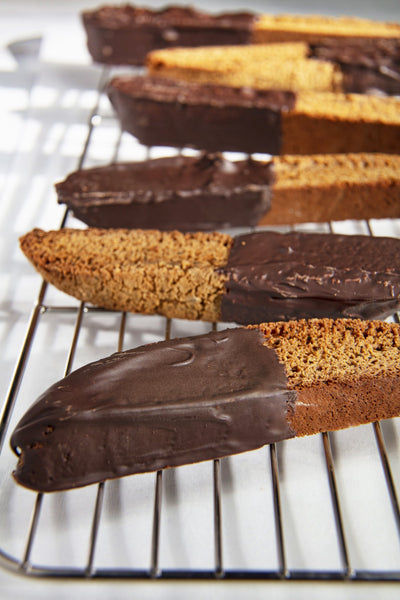 Gingerbread and Coffee Biscotti Recipe