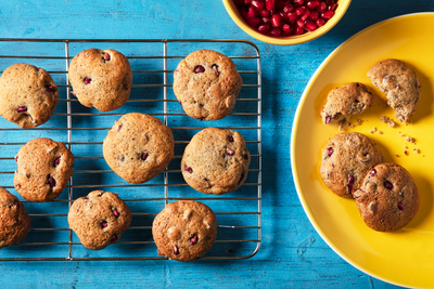 Pomegranate Chocolate Cookies Recipe