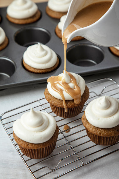 Pumpkin Spice Latte Cupcakes Recipe