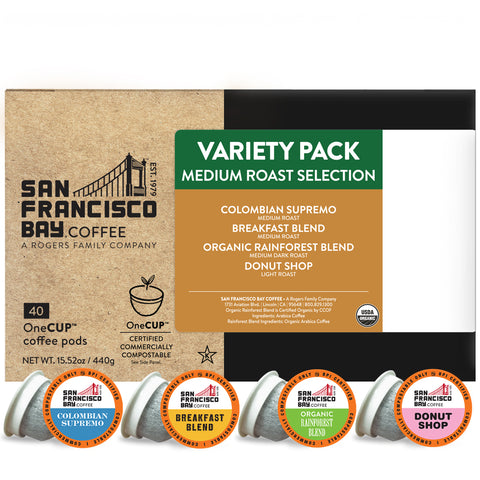 Medium Roast Selection Variety Pack OneCUP™ Pods, 40 Count
