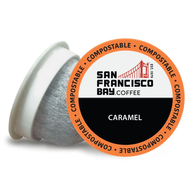 Caramel Coffee OneCUP™ Pods, 80 Count