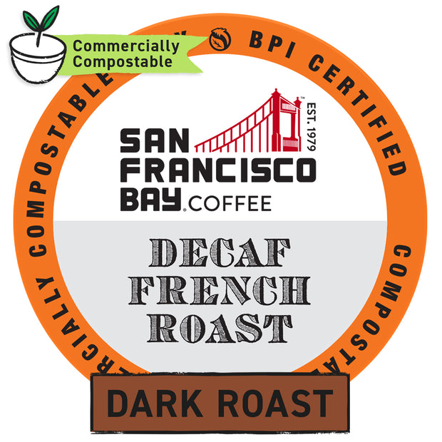 Decaf French Roast OneCUP™ Pods