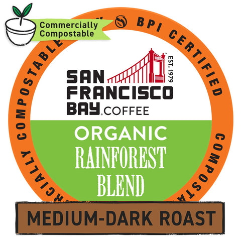 Organic Rainforest Blend OneCUP™ Pods