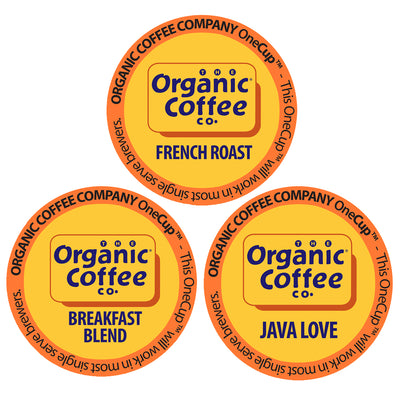 Organic Coffee Co. Variety Pack OneCups, 36 Count