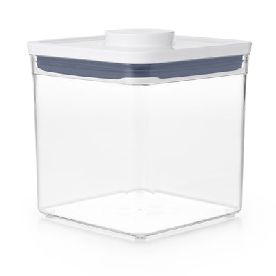 Good Grips POP Container, Big Square Short, 2.8 Qt