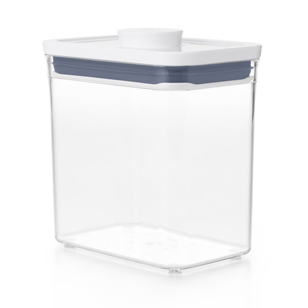 OXO Good Grips POP Container, Rectangle Short, 1.7 Qt