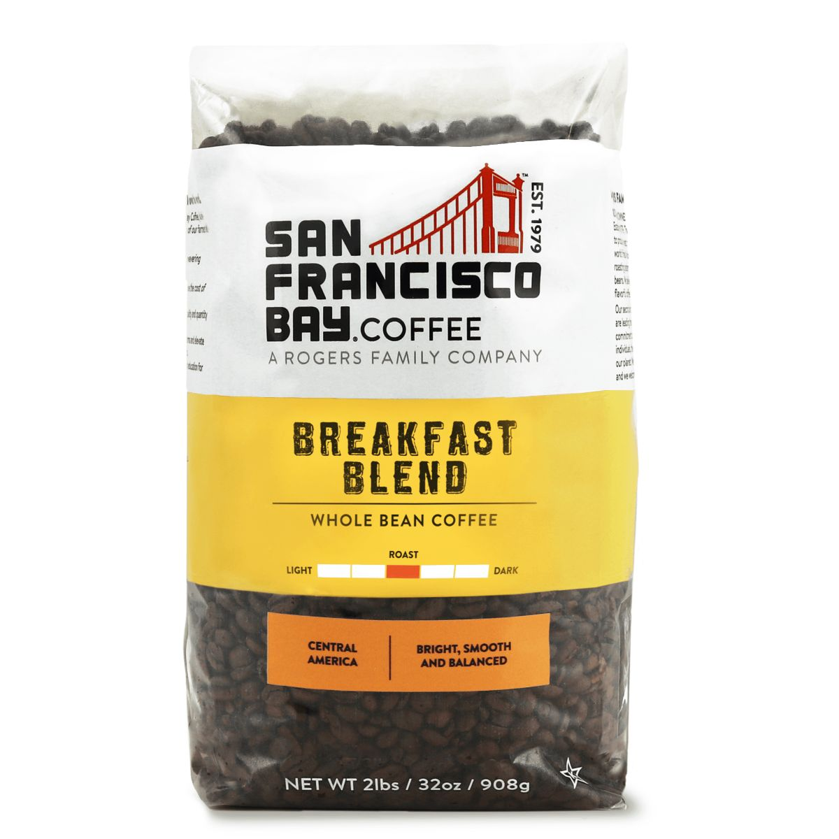Breakfast Blend, 2 lb Bag