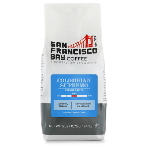 Colombian Supremo, Ground, 12 oz Bag