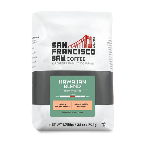 Hawaiian Blend, Ground, 28 oz Bag