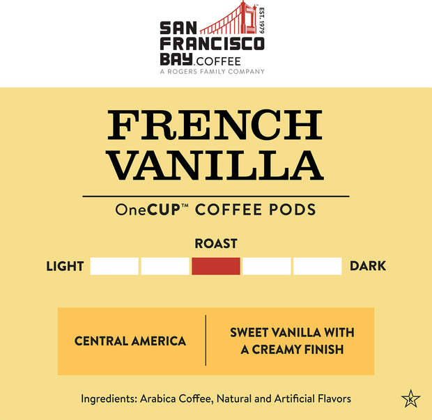 French Vanilla OneCUP™ Pods, 80 Count