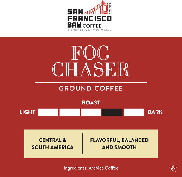 Fog Chaser, Ground, 12 oz Bag