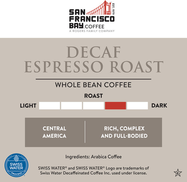 Decaf Espresso Roast, 2 lb Bag