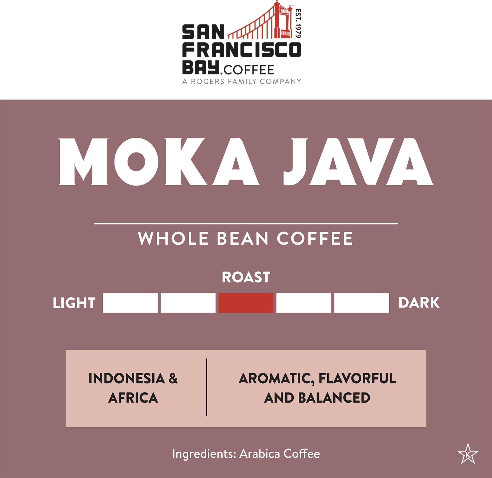 Moka Java, 2 lb Bag