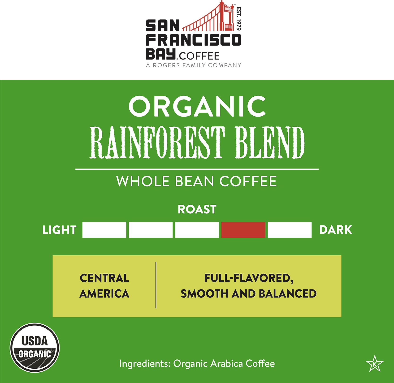 Organic Rainforest Blend, 2 lb Bag