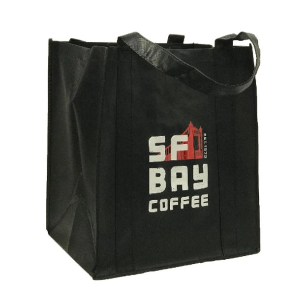 SF Bay Tote Bag, Black