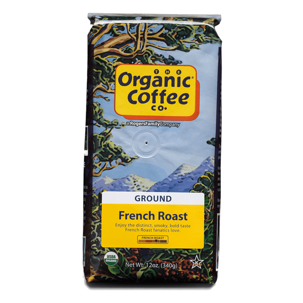 Organic Coffee Co. French Roast, 12 oz Bag (GROUND)