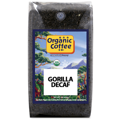 Organic Coffee Co. Gorilla Decaf, 2 lb Bag