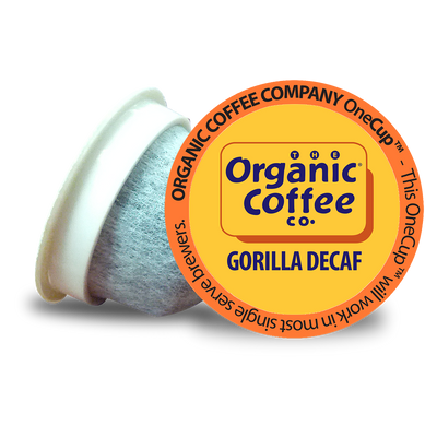 Organic Coffee Co. Gorilla Decaf OneCups