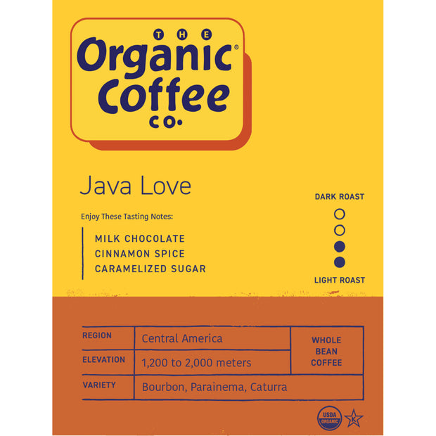 Organic Coffee Co. Java Love OneCups