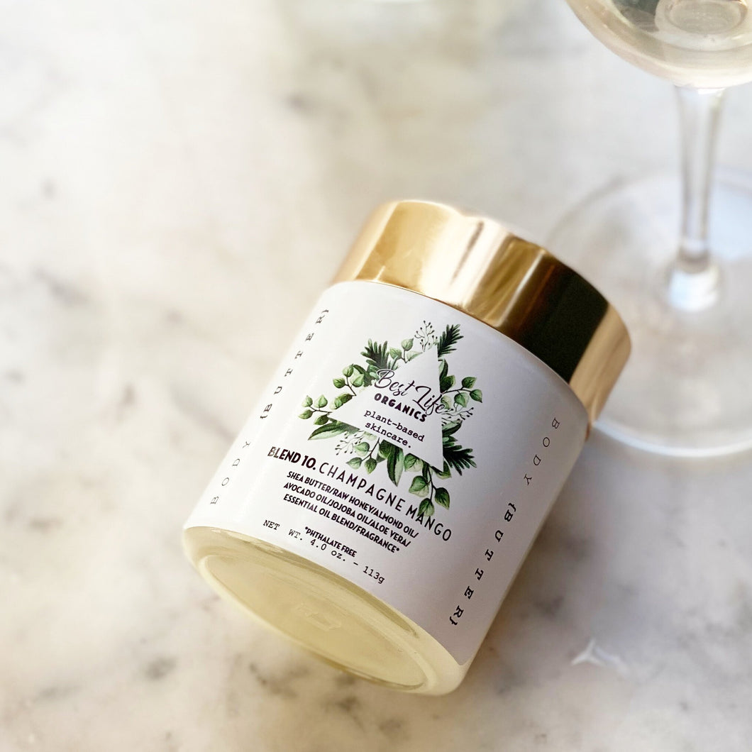 Best Life Organics Champagne Body Butter