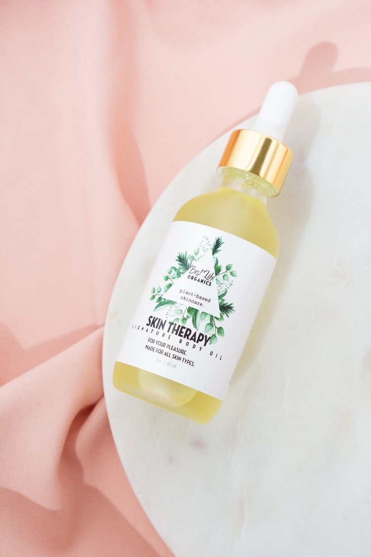 Best Life Organics Skin Therapy Body Oil