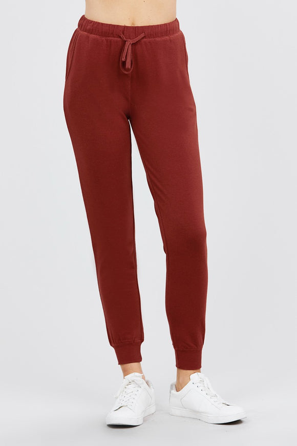French Terry Jogger Pants - Diamond Loves Express Shop