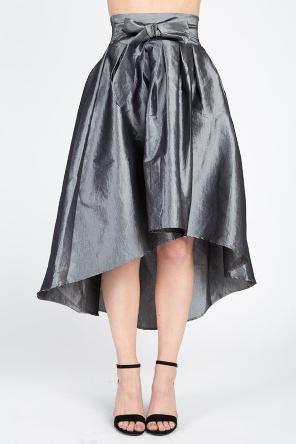 Taffeta High-low Skirt - Diamond Loves Express Shop