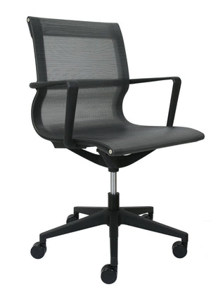 Cannes Conference / Meeting Room Chair Private Spaces Black